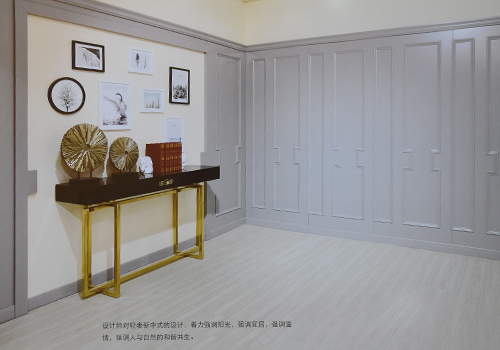 轻奢风卧室组合衣柜设计展示