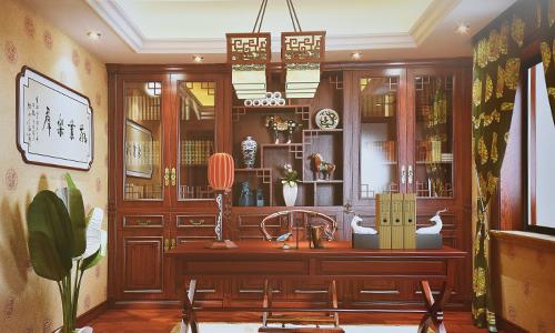 中式书房展示