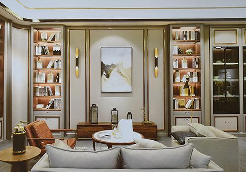 新中式客厅装修荣誉资质