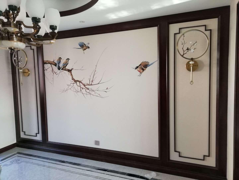 新中式木质隔断装修设计案例展示