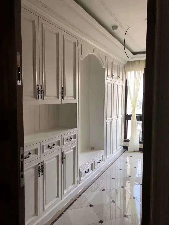 颐合枫尚卧室衣柜设计案例展示