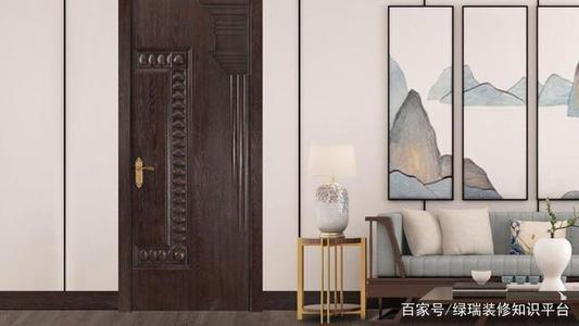 室内实木复合门展示
