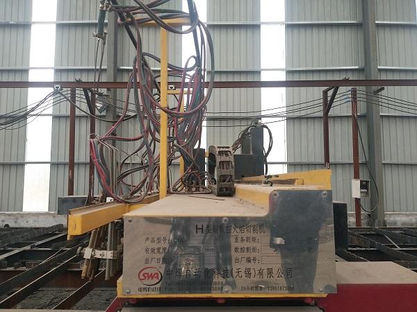 乌兰察布钢结构厂——火焰切割机