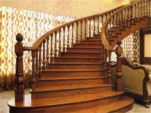 湖北实木楼梯