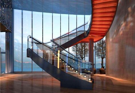 玻璃楼梯装修有哪些秘诀?实木楼梯厂家给我们具体的详解!