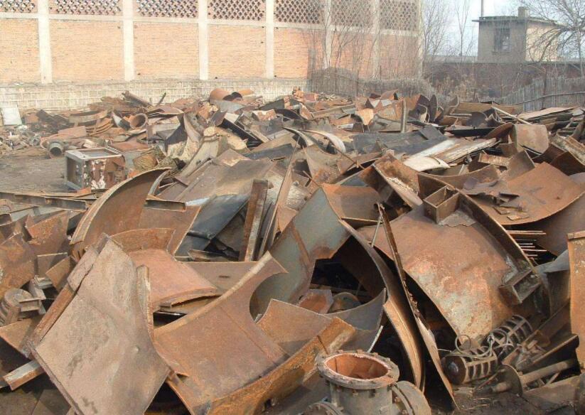 新疆常用的废钢回收处理办法,如何清洗废钢?