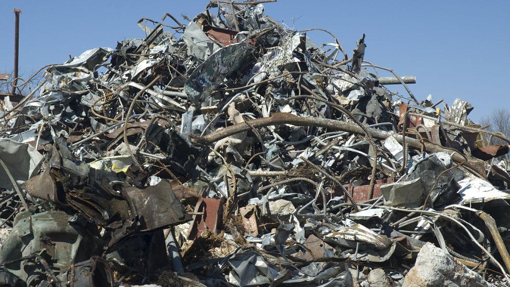 废旧铁料回收