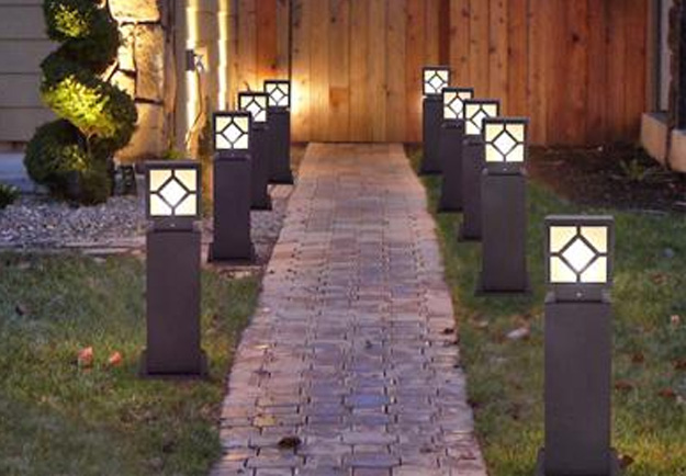 陕西草坪灯案例展示