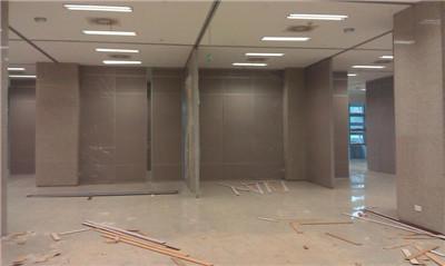 河南会议室隔断安装