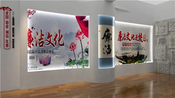 陕西展厅设计-惠安中学校史馆