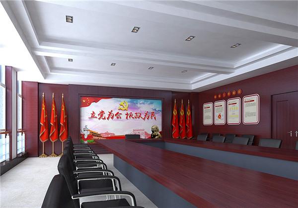 陕西展厅设计-中铁党建