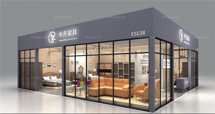 陕西展台搭建-中升家具