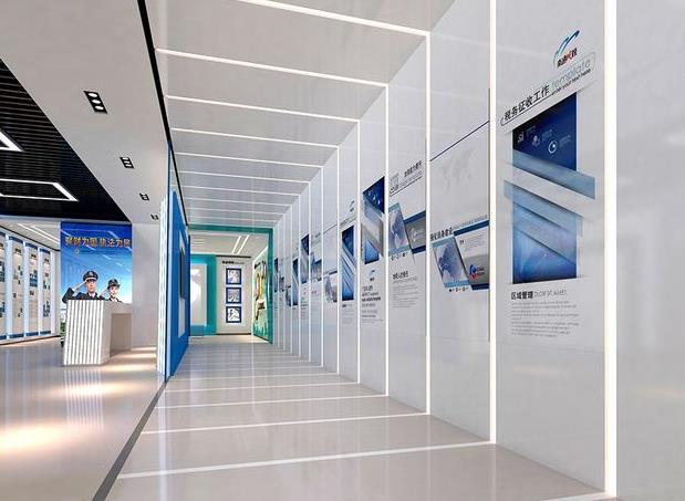 企业展厅的设计方法,一般的展厅分为几个部分?