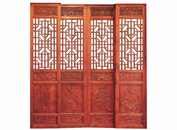 四川仿古门窗花格制作的类型和方法