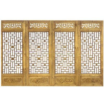 中式门窗设计具备了什么样的优势