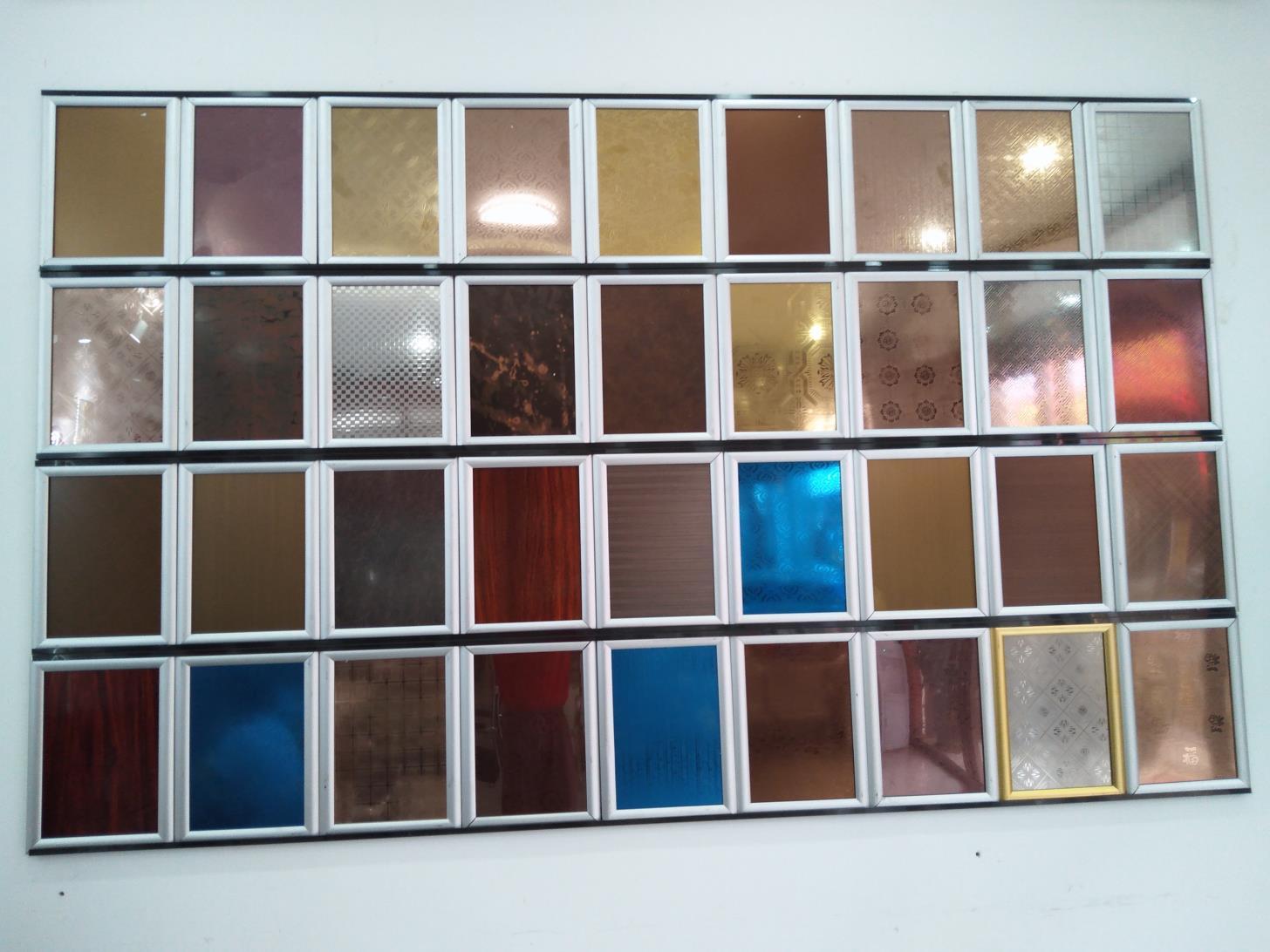 有色板展示架