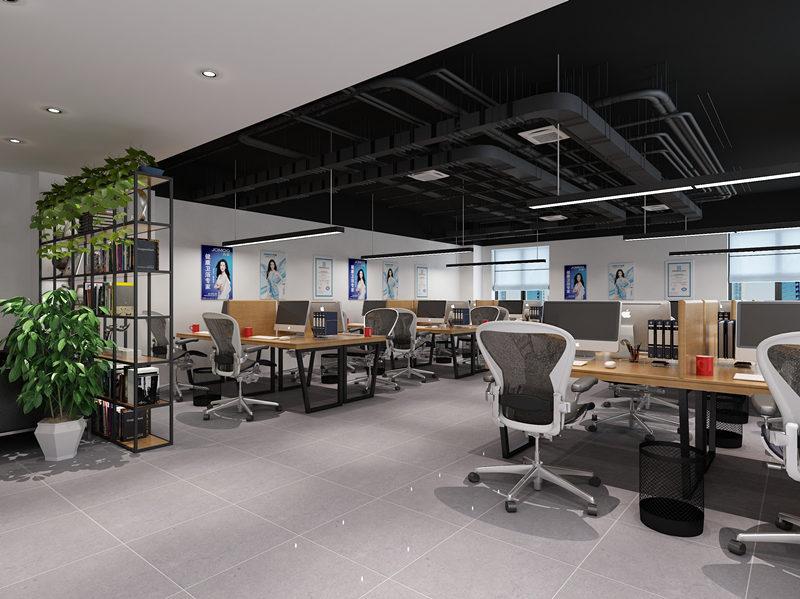 华南城办公室工装设计