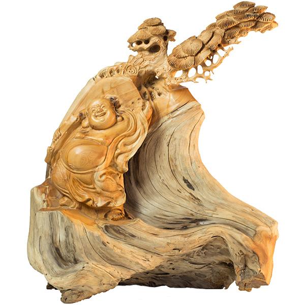 襄陽崖柏人物雕刻