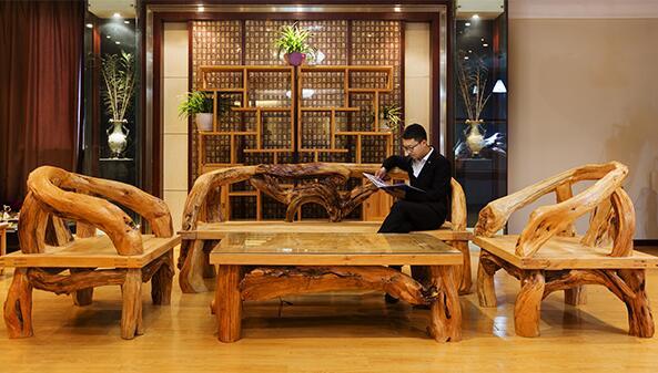 襄阳崖柏茶台产品展示