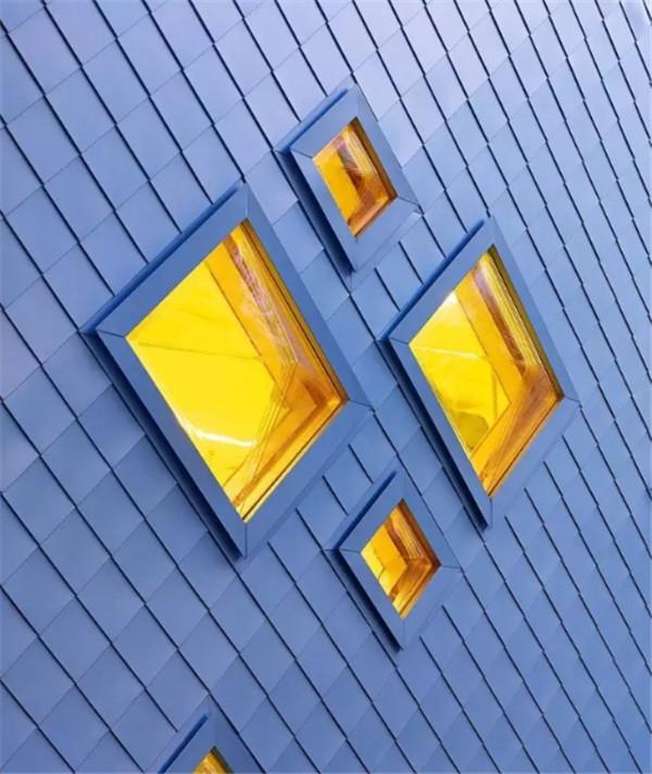 铝镁锰菱形平锁扣墙面