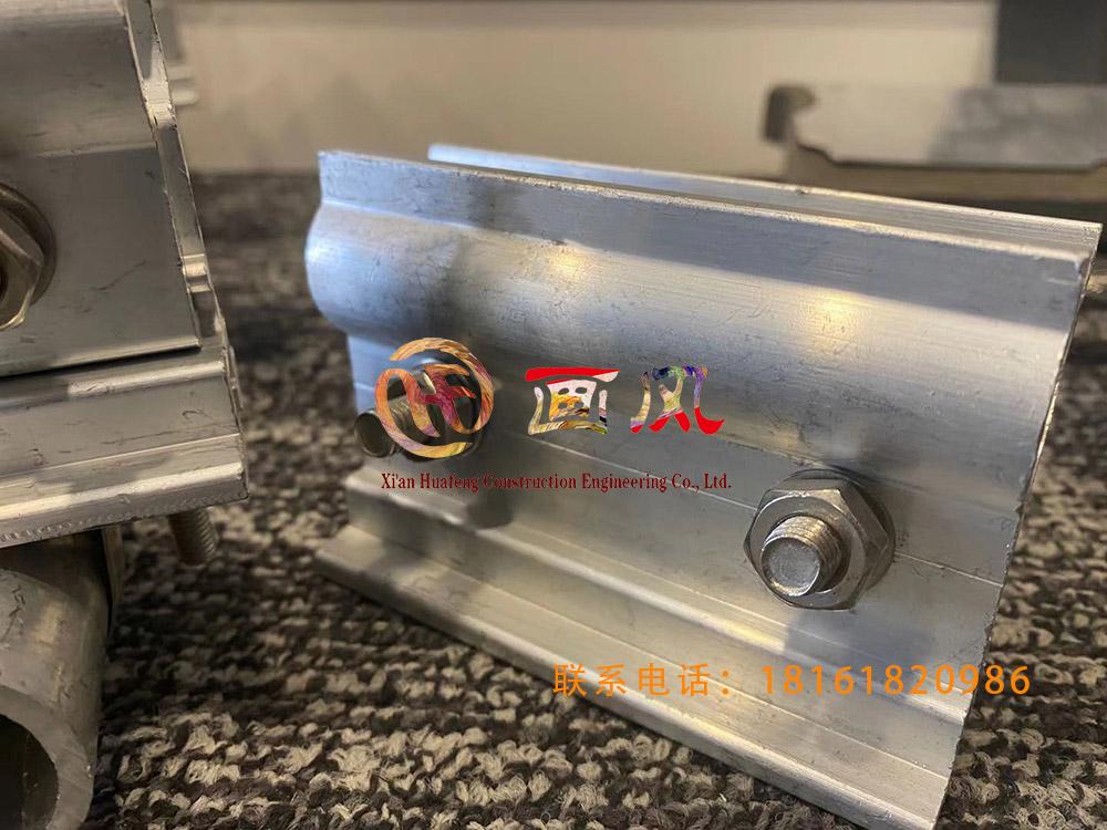 铝合金夹具直立锁边铝合金防风屋面板防风加固