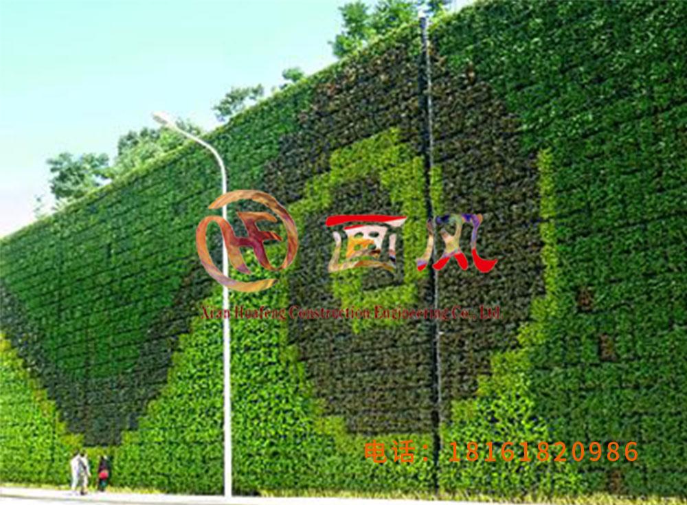 西安画风建筑工程有限公司垂直绿化墙植物墙