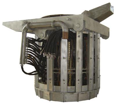 GW-6吨中频炉活动炉体