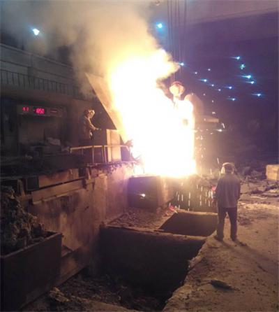 河北冀凯铸业中频熔炼炉顺利生产