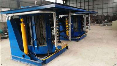 赣玛实业有限公司两台2台2吨中频制造完毕