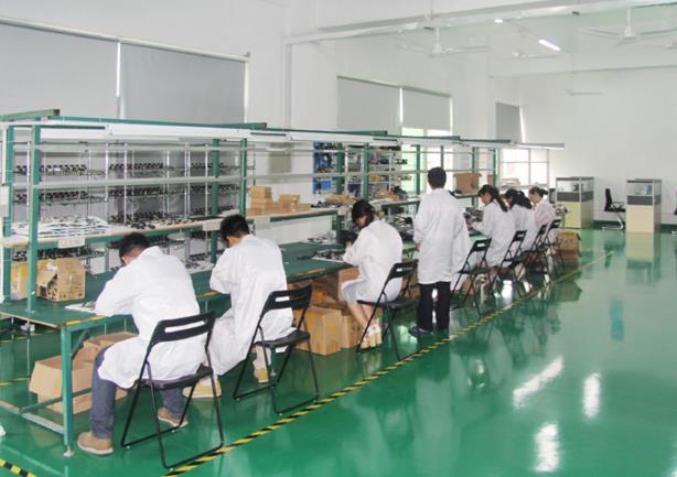 公司生产车间展示