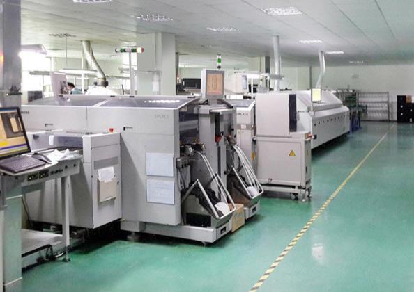 机器设备生产环节展示