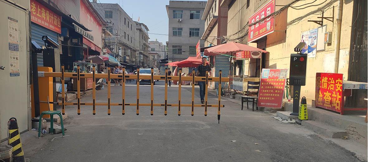 灞桥区米秦路杜家街股份经济合作社-车牌识别系统