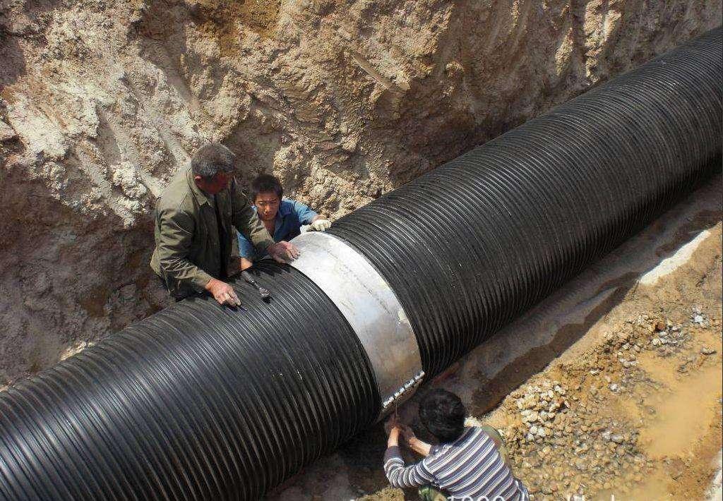 HDPE给水管系列安装方法