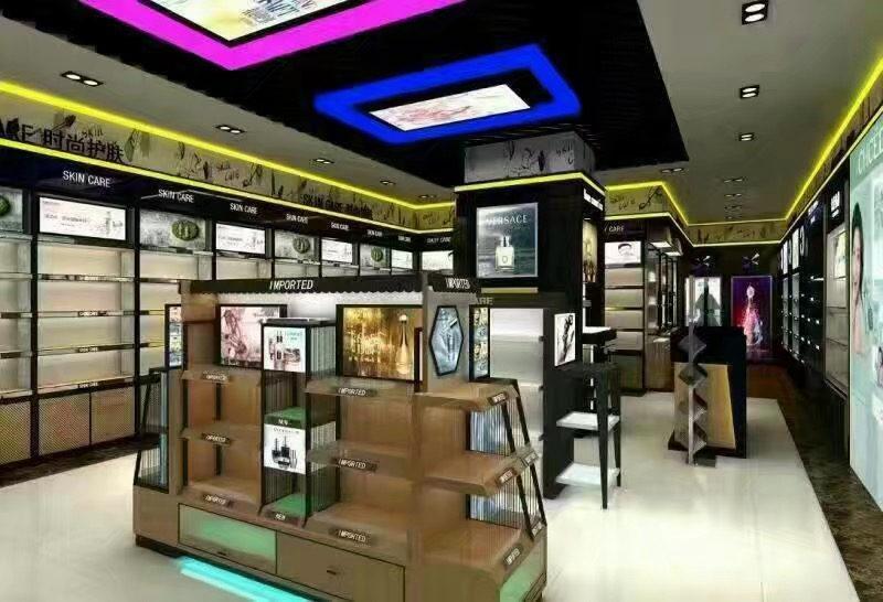 西安化妝品展櫃定製