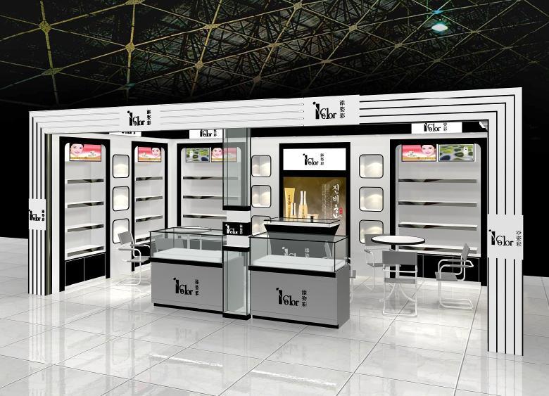 西安化妝品展櫃製作