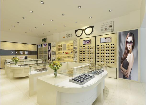 西安眼鏡展櫃