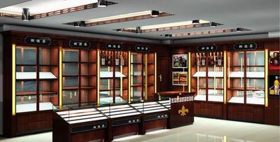 西安禮品展櫃製作
