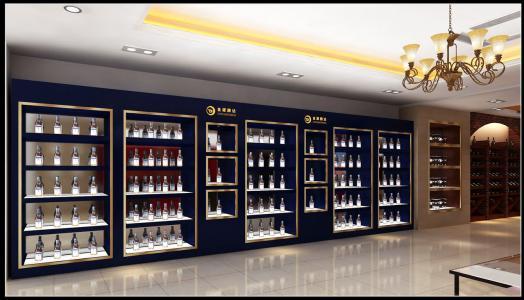 煙酒展櫃設計