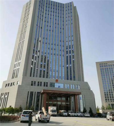 宁夏人民法院空气能热泵项目圆满交工