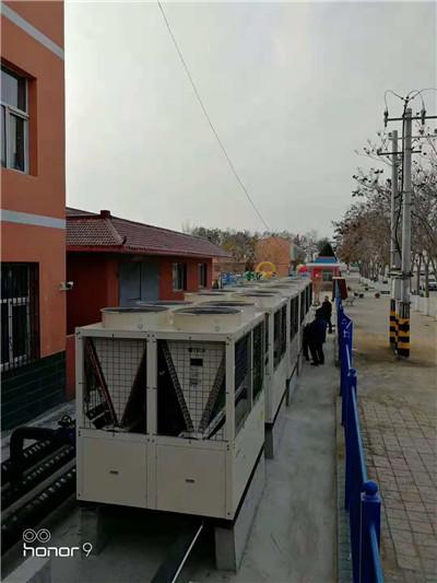 马家滩小学中央空调安装