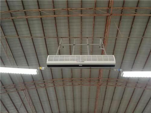 宁夏风幕机安装工程案例
