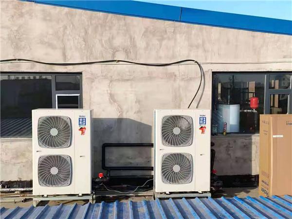 海尔空气能热泵采暖