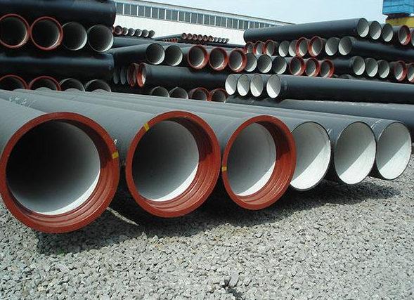 球墨铸铁管生产厂区