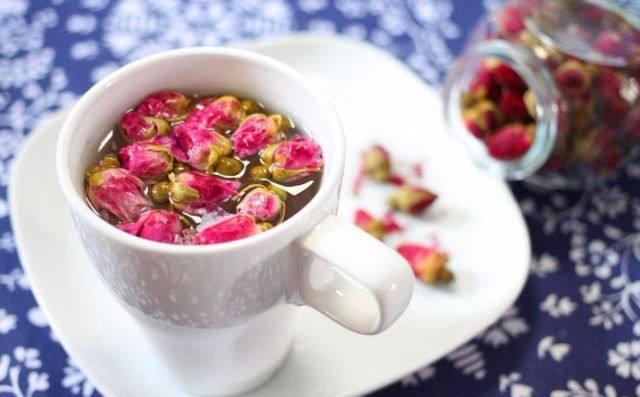 兰州玫瑰花草茶