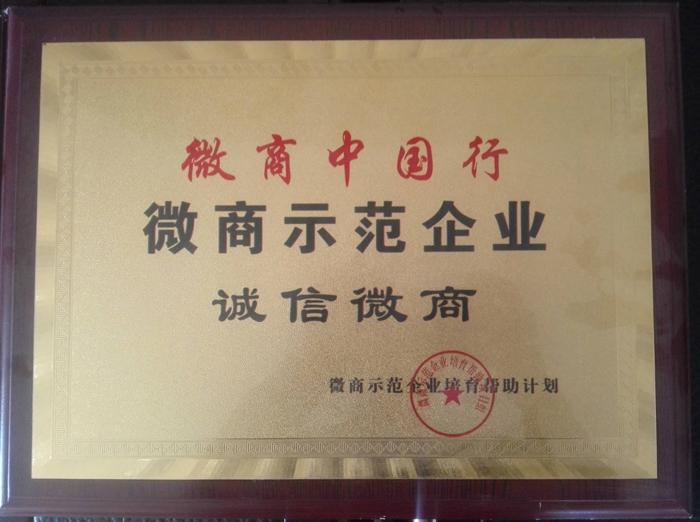 微商中国行微商示范企业