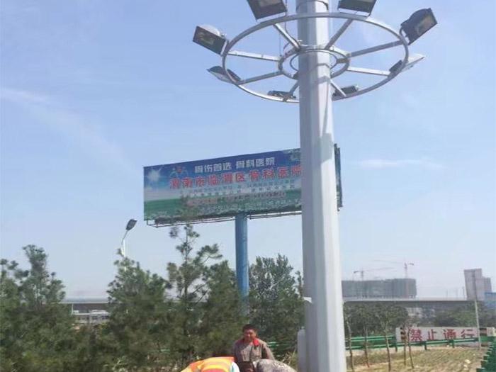 臨渭區高速路口高杆燈係列