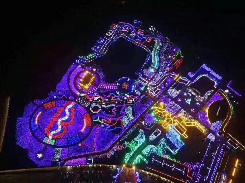 大明宮公園LED燈光展