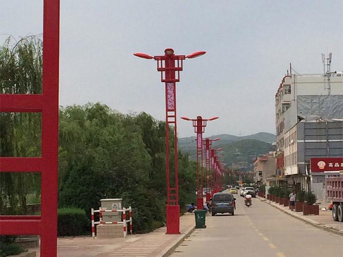 綏德神龍大道景觀燈