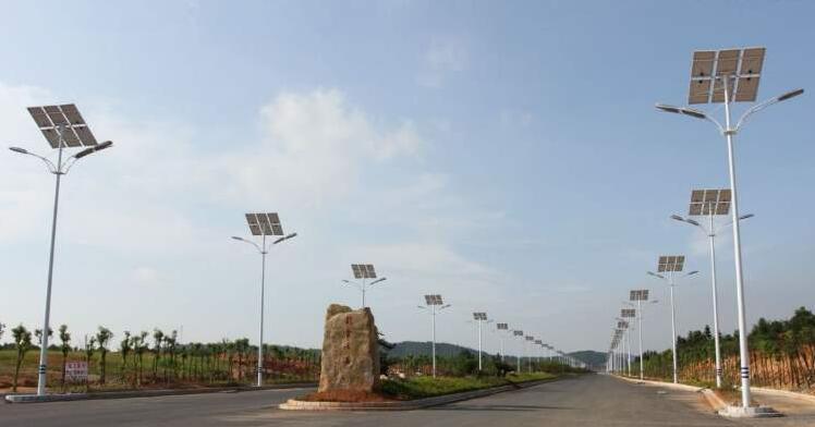 陕西太阳能路灯安装太阳能路灯选择有什么技巧?