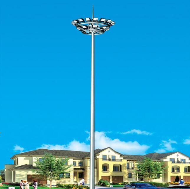 陕西高杆灯安装高杆灯路灯的照明灯具规范规定